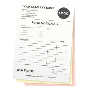 3 part Purchase Order ncr product image